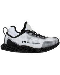 adidas Sneakers Runner Tessuto Bianco Nero - Wit