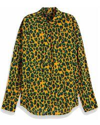 Scotch & Soda 154267 91 Printed Cotton Viscose Shirt - Zwart