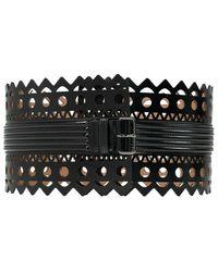 Alaïa Waist Belt - Zwart