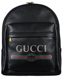 Gucci Backpack - Zwart