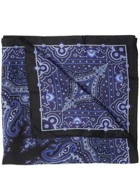 Acne Studios - Patterned scarf with logo - Lyst
