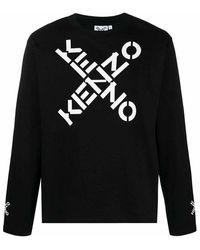 KENZO Sweatshirt X Logo - Zwart