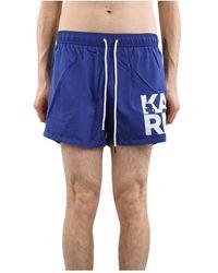 Karl Lagerfeld Swimsuit - Blauw