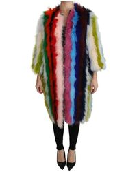Dolce & Gabbana - Turkije Feather Cape - Lyst