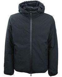 Refrigue Reversible Jacket With Hood - Zwart