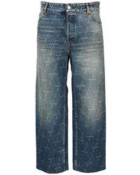Balenciaga Jeans 600235tjw53 - Blauw