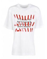 Tosca Blu T-shirt Label - Wit