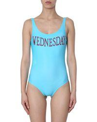 Alberta Ferretti Swimsuit - Bleu