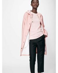 Stutterheim Mosebacke Raincoat Rosa