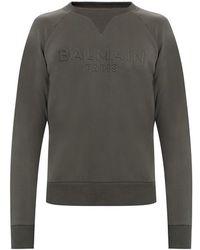 Balmain Gents Tailored Shirt Poplin Stretch - Blauw