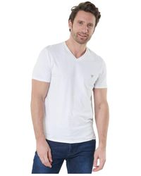 Guess - Tee Shirt Stretch Basique - Jeans - Lyst