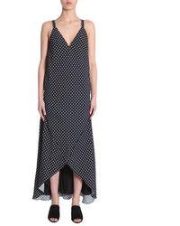 Haider Ackermann Long Dress - Zwart