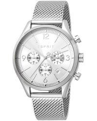 Esprit Watch Es1g210m0055 - Grijs