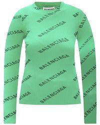 Balenciaga Blouse - Groen