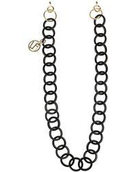 Linda Farrow Decorative eyewear chain - Schwarz