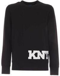 Kiton Logo detail sweatshirt - Noir