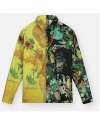 Daily Paper Van Gogh Museum Sunflower Jisi Shirt - Groen