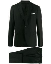 Neil Barrett Dresses - Zwart