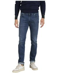 Re-hash Jeans Hopper Classico - Blauw
