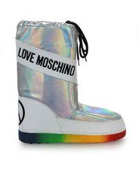 Love Moschino Boots - Grijs