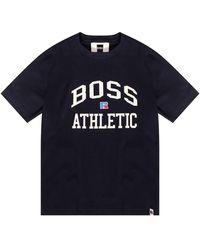 BOSS by Hugo Boss Russell Athletic T-shirt - Noir