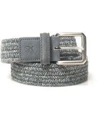 Canali Rope Belt - Grijs