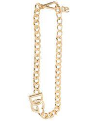 Dolce & Gabbana Chain Necklace - Geel