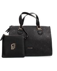 Liu Jo N69064 E0054 Hand Bag And Clutch Women Nero - Zwart