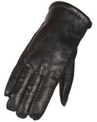Hestra Heren Handschoen In Lamsvacht - Zwart