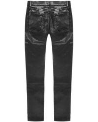 Saint Laurent - Jeans Negro - Lyst