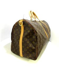Louis Vuitton Keepall Bandouliere 55 Marrón - Multicolor