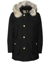Woolrich Coat - Zwart
