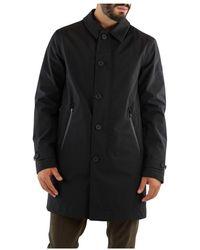 Peuterey Geul Gevoerde Textiel - Zwart