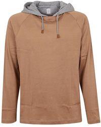 Eleventy T-shirt - Bruin