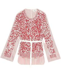 Ottod'Ame Sequin Knit - Rood