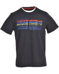 Frankie Morello T-shirt Azul