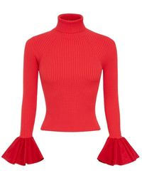 Elisabetta Franchi Sweater - Rood