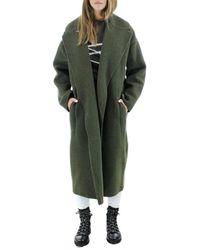 N°21 Wool Coat - Groen