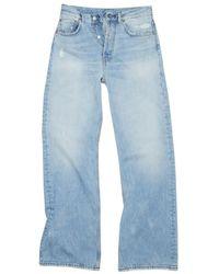 Acne Studios 2021m Trash Jeans - Blauw