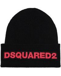 DSquared² Wool hat - Nero