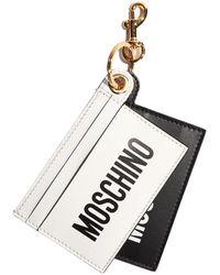 Moschino Keychain - Wit