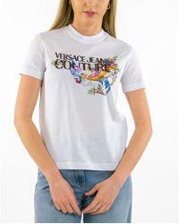 Versace Jeans Couture - Camiseta Estampado - Lyst