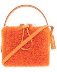 Jacquemus Le Seau Carré Shoulder Bag - Oranje