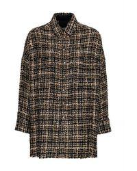 IRO Tweed Shirt - Bruin