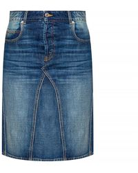 Étoile Isabel Marant Denim Skirt - Blauw