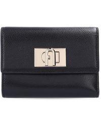 Furla Leather Wallet - Zwart