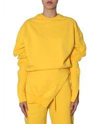 DIESEL Sweatshirt In Collab Met Glenn Martens - Geel