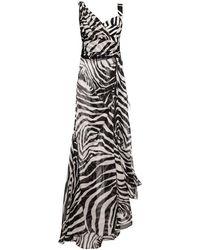 Dolce & Gabbana Abito stampato animalier - Nero