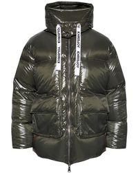 Khrisjoy Hooded down jacket - Vert