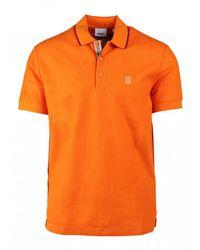 Burberry Walton Poloshirt - Oranje